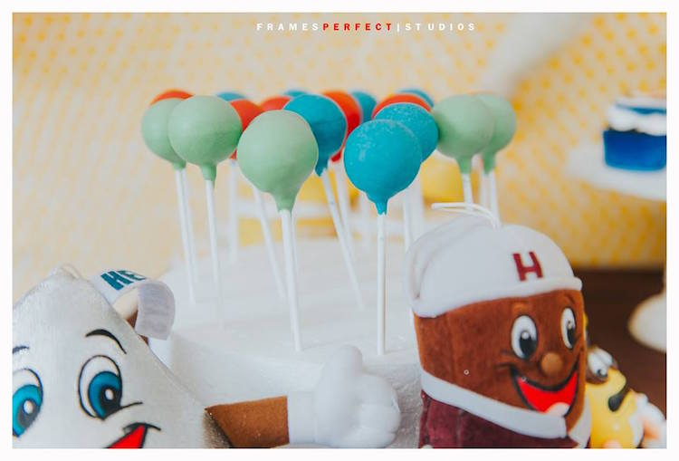 Cake Pops from a Chocolate Candyland Birthday Party on Kara's Party Ideas | KarasPartyIdeas.com (21)