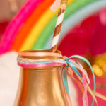 Confetti Rainbow Birthday Party on Kara's Party Ideas | KarasPartyIdeas.com (1)