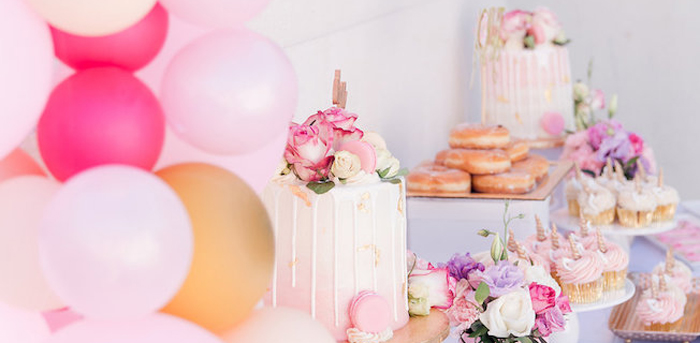 Donut Grow Up 1st Birthday Party on Kara's Party Ideas | KarasPartyIdeas.com (1)