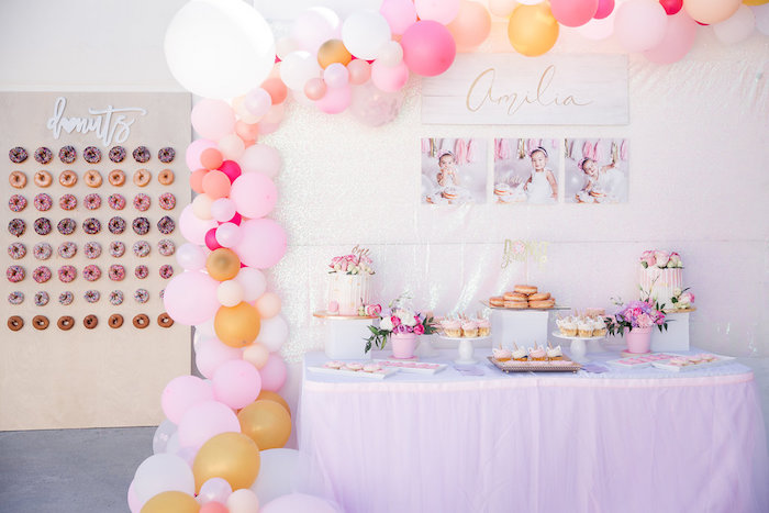 Donut Grow Up 1st Birthday Party on Kara's Party Ideas | KarasPartyIdeas.com (28)