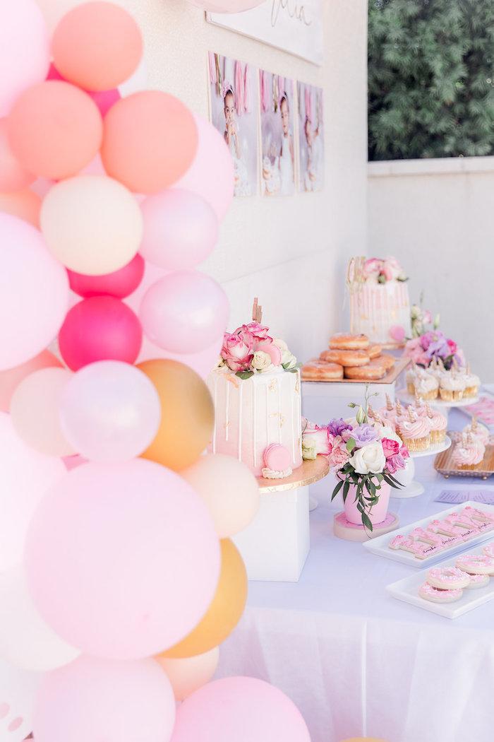 Donut Grow Up 1st Birthday Party on Kara's Party Ideas   KarasPartyIdeas.com (24)