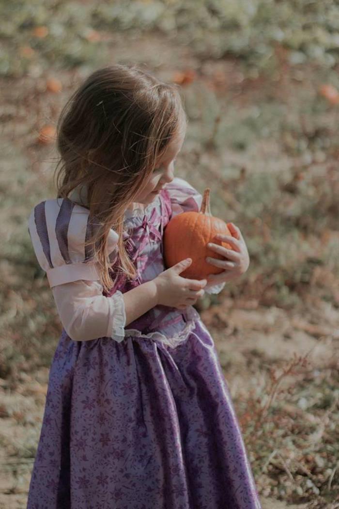Pumpkin Patch from a Fall + Halloween Birthday Party on Kara's Party Ideas | KarasPartyIdeas.com (9)