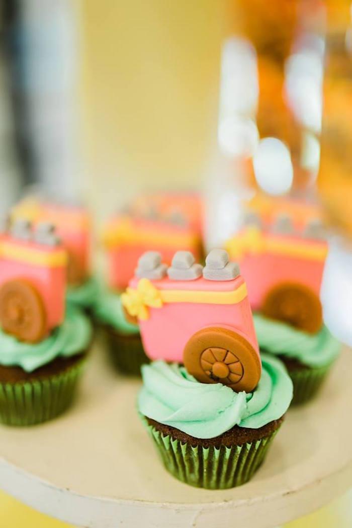Cupcakes from a Filipino Fiesta Birthday Party on Kara's Party Ideas   KarasPartyIdeas.com (23)