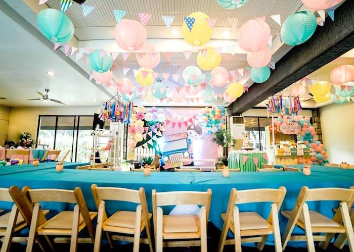 Filipino Party Spread from a Filipino Fiesta Birthday Party on Kara's Party Ideas   KarasPartyIdeas.com (22)