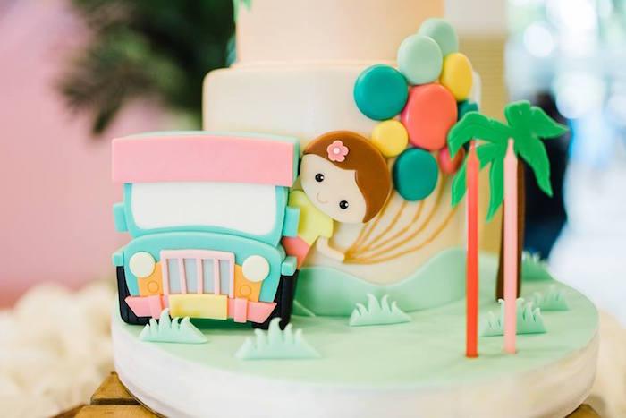 Filipino-inspired Birthday Cake from a Filipino Fiesta Birthday Party on Kara's Party Ideas   KarasPartyIdeas.com (19)