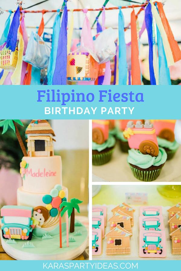 Filipino Fiesta Birthday Party via Kara's Party Ideas - KarasPartyIdeas.com
