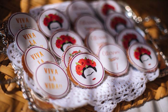 Snacks + Favors from a Frida Kahlo Inspired Birthday Fiesta on Kara's Party Ideas | KarasPartyIdeas.com (22)