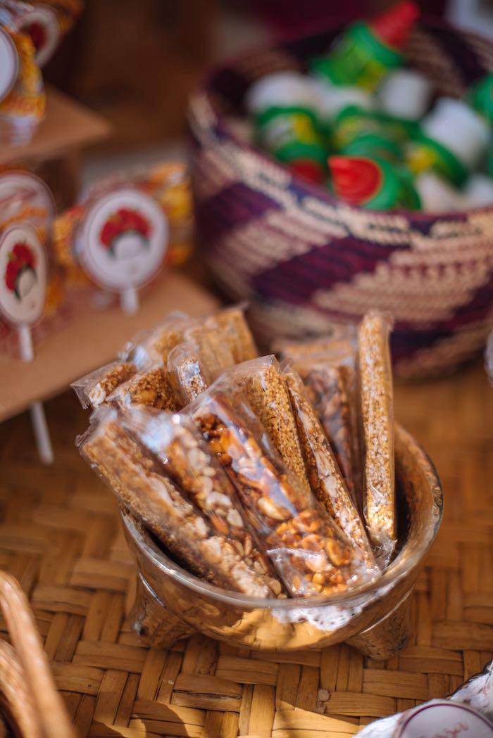 Snack Bars from a Frida Kahlo Inspired Birthday Fiesta on Kara's Party Ideas | KarasPartyIdeas.com (20)