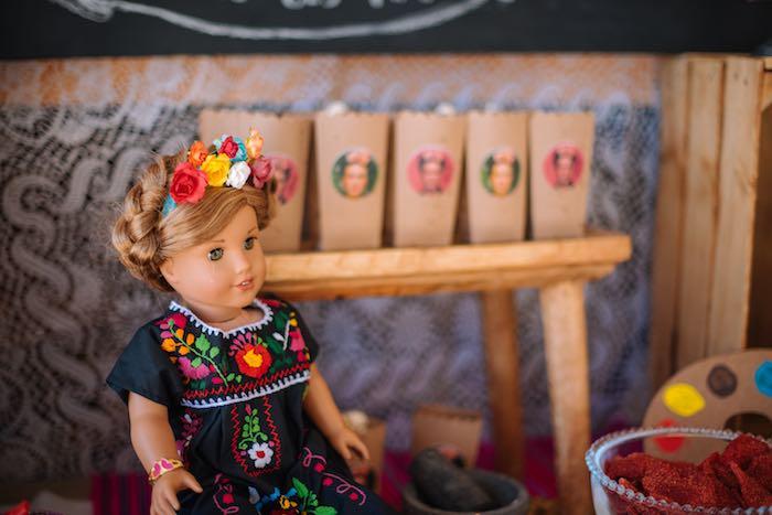 Latin Doll from a Frida Kahlo Inspired Birthday Fiesta on Kara's Party Ideas | KarasPartyIdeas.com (19)