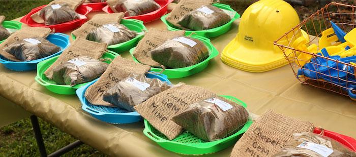 Mining Supplies/Favors from a Gem Mining Birthday Party on Kara's Party Ideas | KarasPartyIdeas.com (7)
