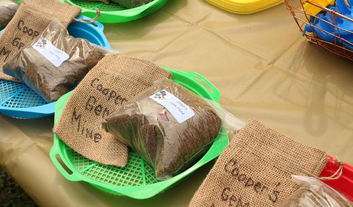 Mining Supplies from a Gem Mining Birthday Party on Kara's Party Ideas | KarasPartyIdeas.com (6)