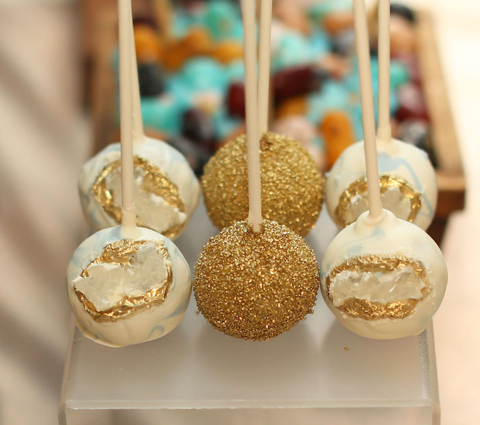 Mineral Cake Pops from a Gem Mining Birthday Party on Kara's Party Ideas | KarasPartyIdeas.com (27)