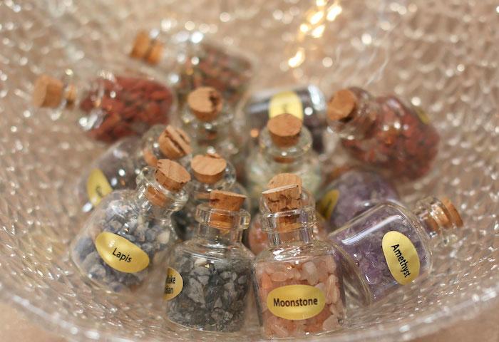 Rock Favors from a Gem Mining Birthday Party on Kara's Party Ideas | KarasPartyIdeas.com (24)