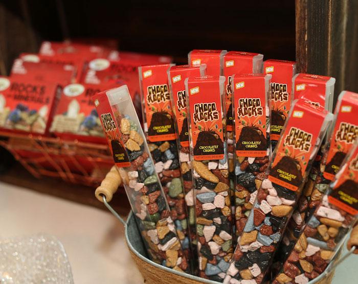 Choco Rocks from a Gem Mining Birthday Party on Kara's Party Ideas | KarasPartyIdeas.com (23)