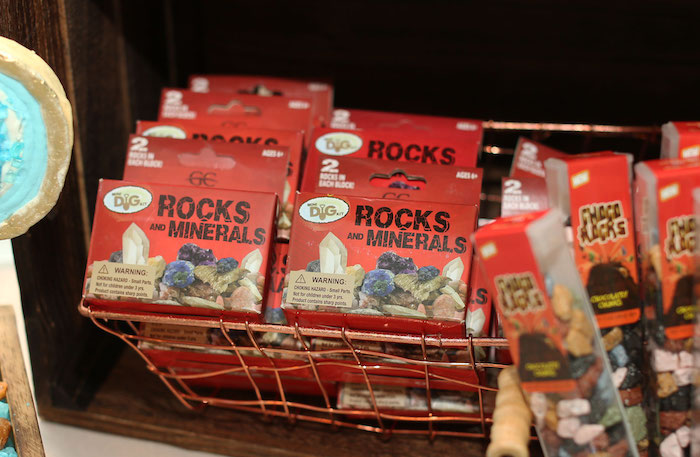 Rock & Mineral Boxes from a Gem Mining Birthday Party on Kara's Party Ideas | KarasPartyIdeas.com (22)