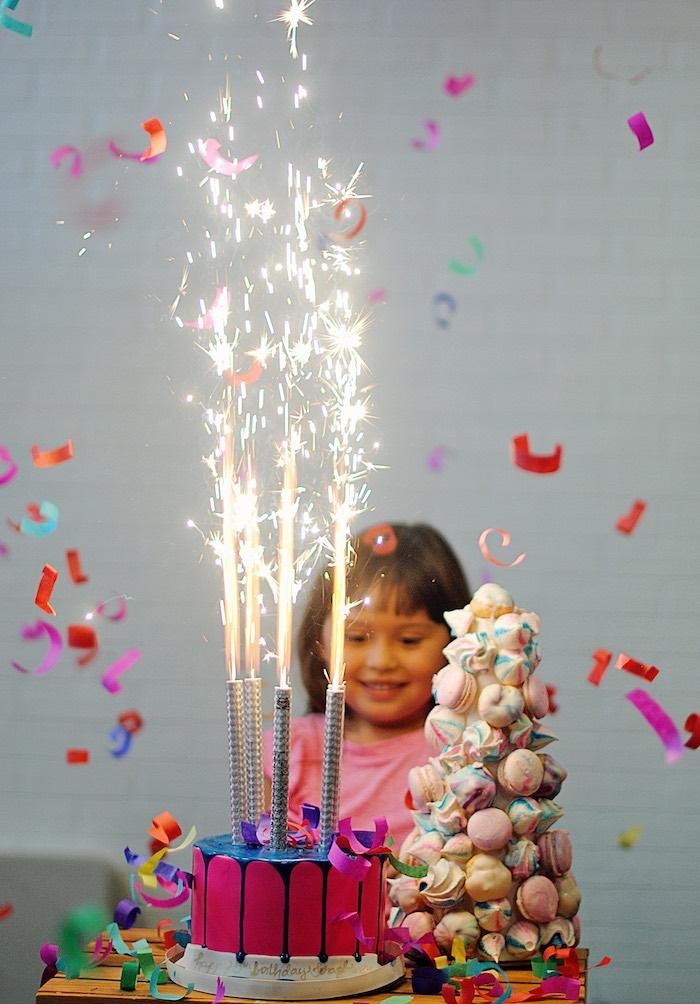 Girly Carnival Birthday Party on Kara's Party Ideas | KarasPartyIdeas.com (5)