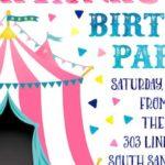 Girly Carnival Birthday Party on Kara's Party Ideas | KarasPartyIdeas.com (1)