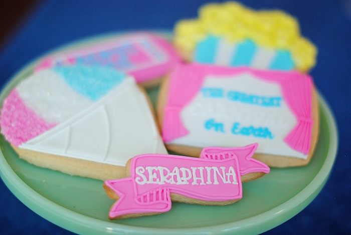 Carnival Cookies from a Girly Carnival Birthday Party on Kara's Party Ideas | KarasPartyIdeas.com (22)