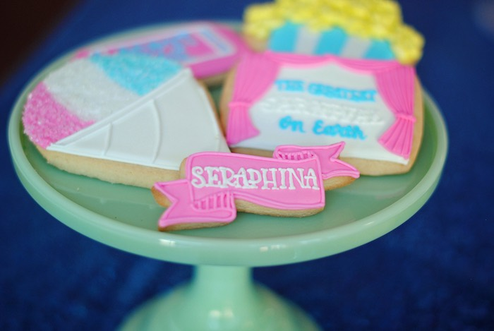 Carnival Cookies from a Girly Carnival Birthday Party on Kara's Party Ideas | KarasPartyIdeas.com (21)
