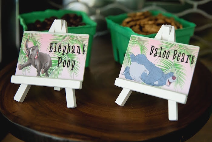 Jungle Book-inspired Food + Sweet Labels from a Jungle Book Party Made for a Princess on Kara's Party Ideas | KarasPartyIdeas.com (32)