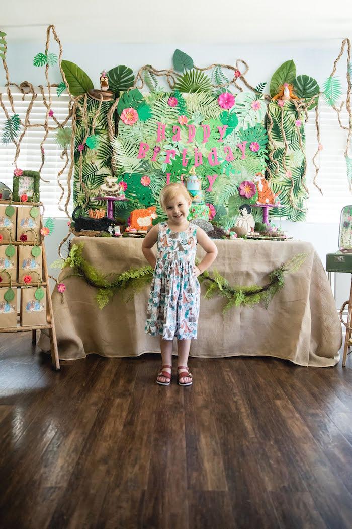 Jungle Book Party Made for a Princess on Kara's Party Ideas | KarasPartyIdeas.com (15)