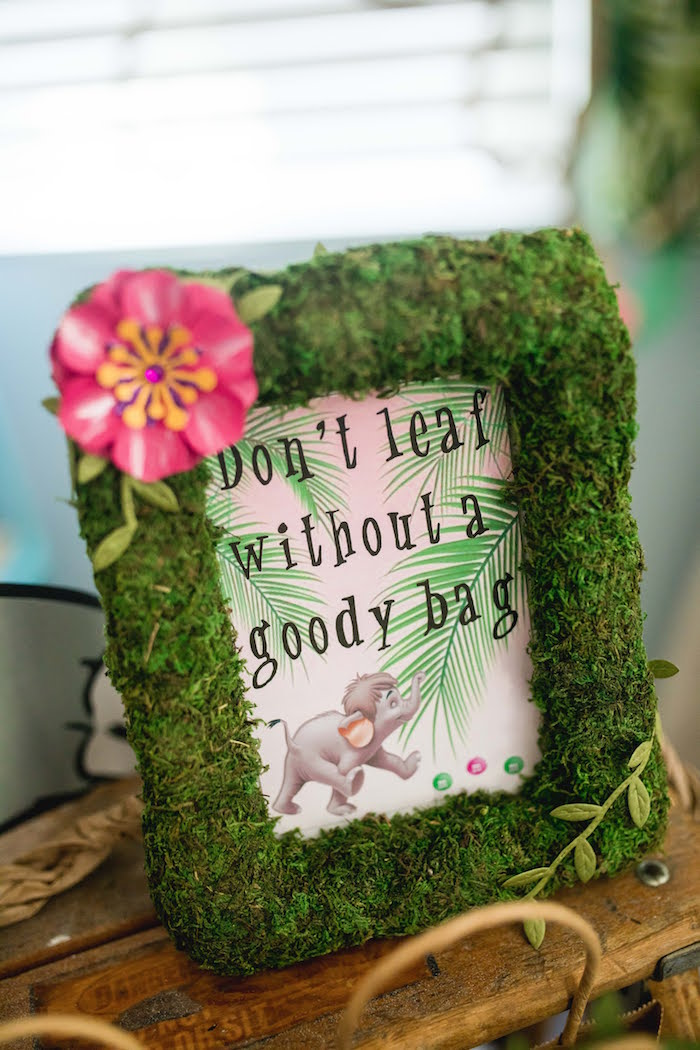 Don't Leaf Without a Goody Bag Party Print from a Jungle Book Party Made for a Princess on Kara's Party Ideas | KarasPartyIdeas.com (51)