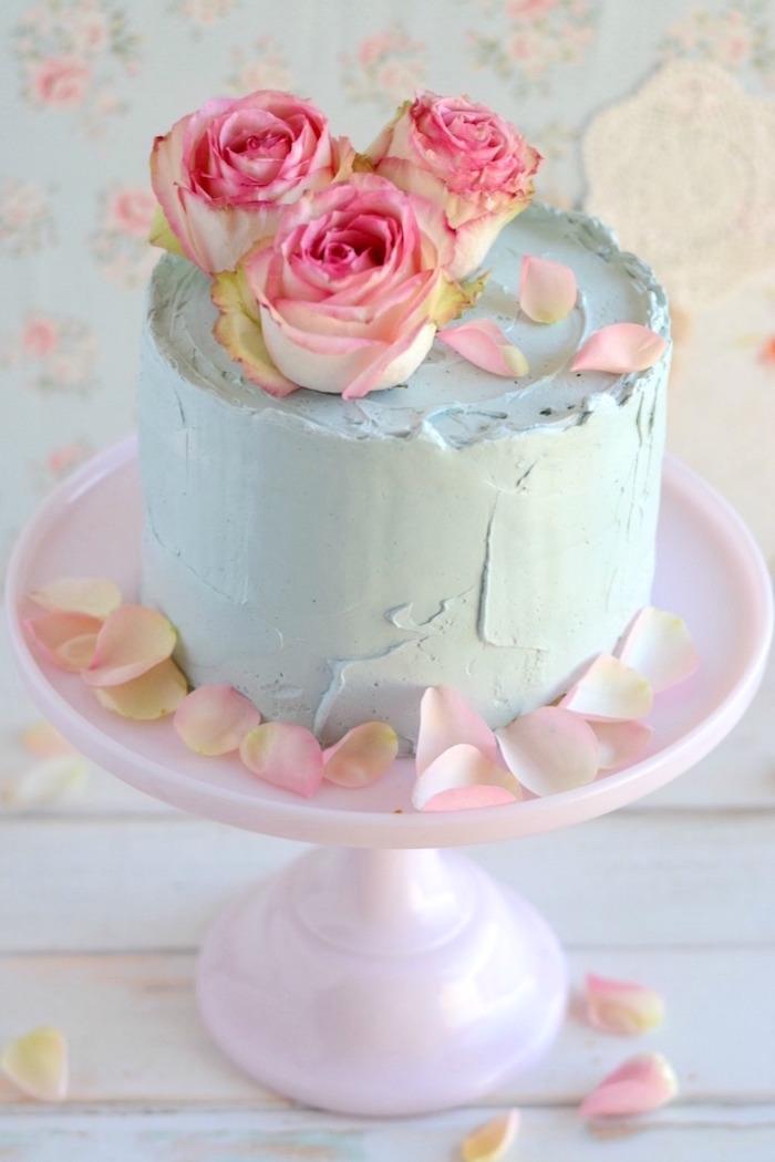 Buttercream Icing Cake Refrigerate