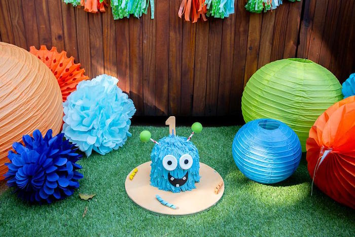 Little Monsters Birthday Party on Kara's Party Ideas | KarasPartyIdeas.com (19)
