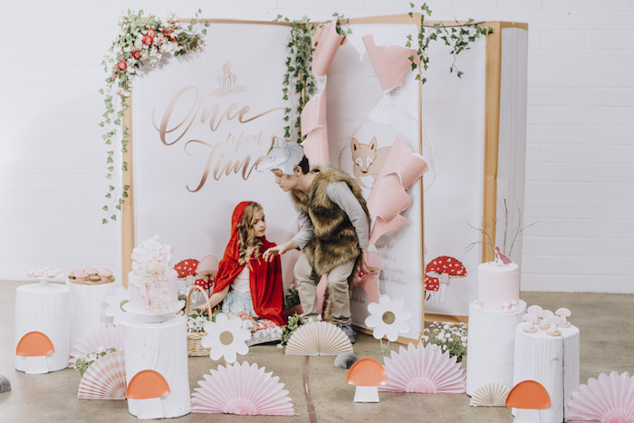 Little Red Riding Hood Birthday Party on Kara's Party Ideas | KarasPartyIdeas.com (19)