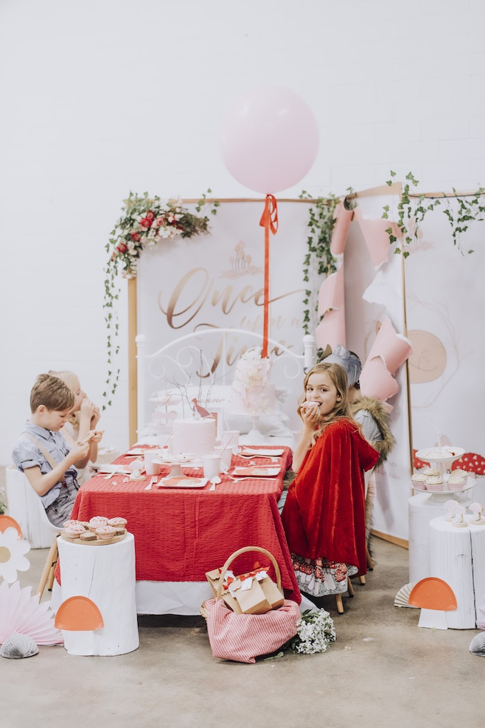 Little Red Riding Hood Birthday Party on Kara's Party Ideas | KarasPartyIdeas.com (3)