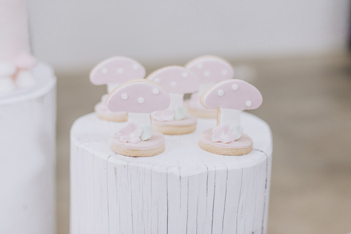 Mushroom Cookies from a Little Red Riding Hood Birthday Party on Kara's Party Ideas | KarasPartyIdeas.com (29)