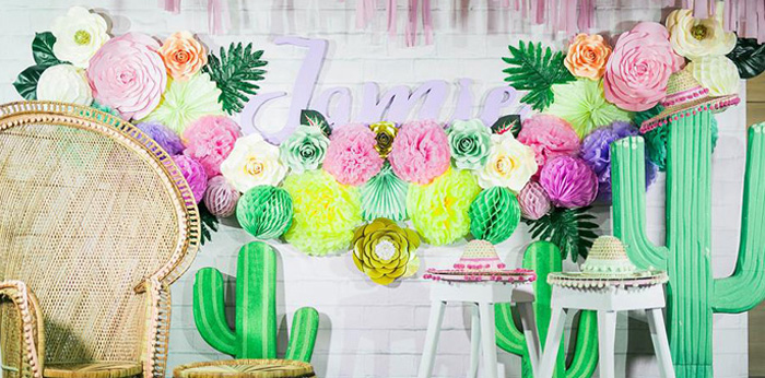 Mexican Fiesta Birthday Party on Kara's Party Ideas | KarasPartyIdeas.com (4)