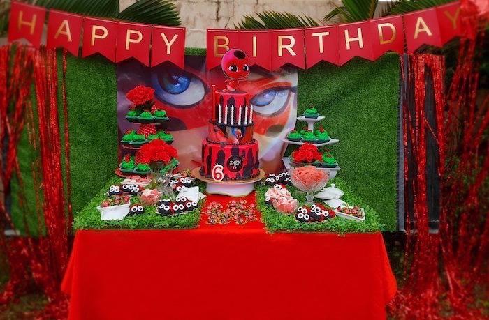 Miraculous Ladybug Birthday Party on Kara's Party Ideas | KarasPartyIdeas.com (12)