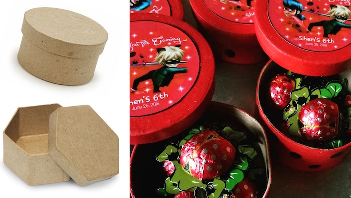 Miraculous Ladybug Favor Boxes from a Miraculous Ladybug Birthday Party on Kara's Party Ideas | KarasPartyIdeas.com (6)