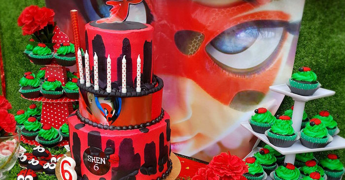 Karas Party Ideas Miraculous Ladybug Birthday