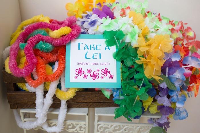 Lei's from a Moana Inspired Birthday Luau on Kara's Party Ideas | KarasPartyIdeas.com (23)