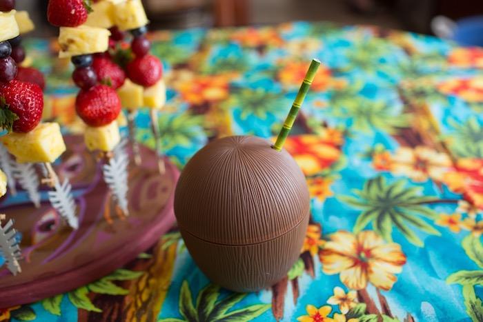 Coconut Cup from a Moana Inspired Birthday Luau on Kara's Party Ideas | KarasPartyIdeas.com (20)