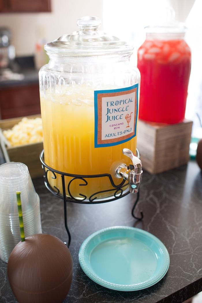 Tropical Jungle Juice from a Moana Inspired Birthday Luau on Kara's Party Ideas | KarasPartyIdeas.com (17)