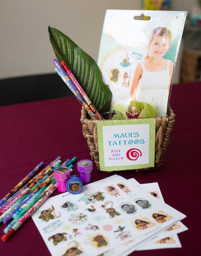 Moana Party Favors from a Moana Inspired Birthday Luau on Kara's Party Ideas | KarasPartyIdeas.com (5)