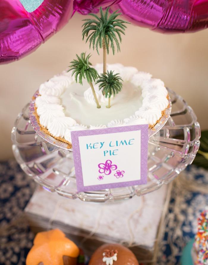 Key Lime Pie from a Moana Inspired Birthday Luau on Kara's Party Ideas | KarasPartyIdeas.com (29)