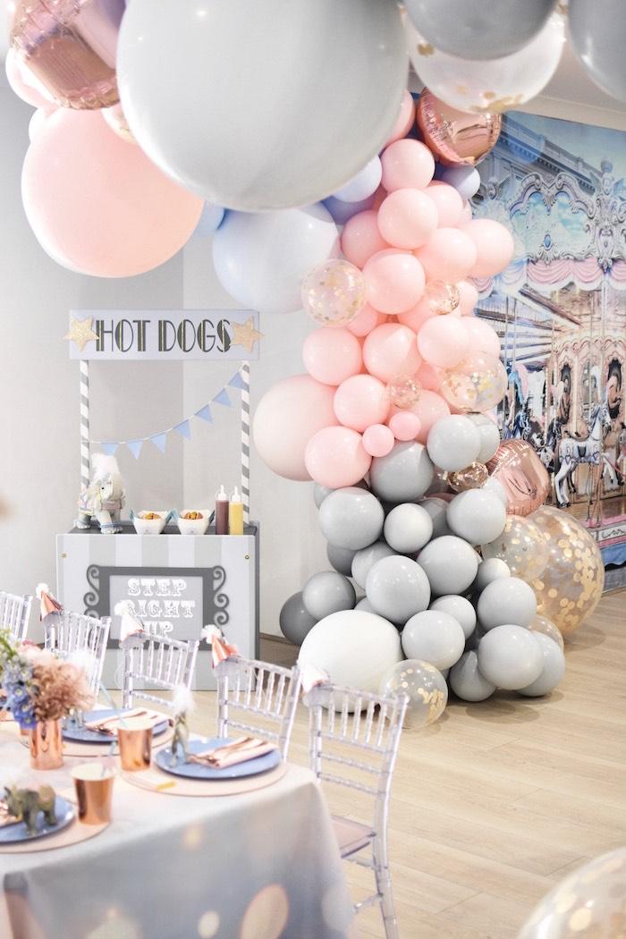 Kara S Party Ideas Pastel Carnival Birthday Party Kara S
