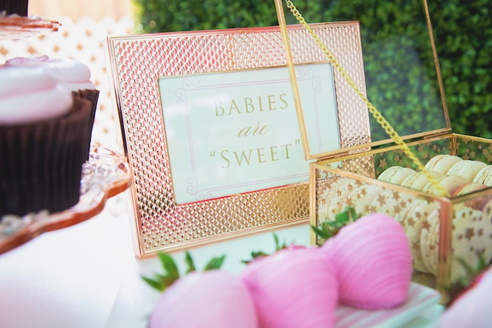 Glam Babies are Sweet Print + Signage from a Pretty in Pink Glam Baby Shower on Kara's Party Ideas | KarasPartyIdeas.com (19)