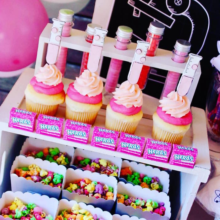 Girly Science-inspired Sweets + Candy from a Project Mc2 Inspired Girly Science Party on Kara's Party Ideas | KarasPartyIdeas.com (18)