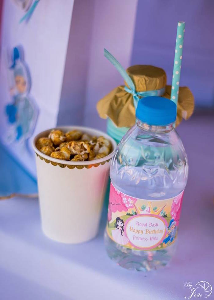 Knight Snacks + Beverages from a Royal Princess & Knight Birthday Party on Kara's Party Ideas | KarasPartyIdeas.com (9)