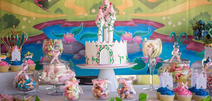 Royal Princess & Knight Birthday Party on Kara's Party Ideas | KarasPartyIdeas.com (1)
