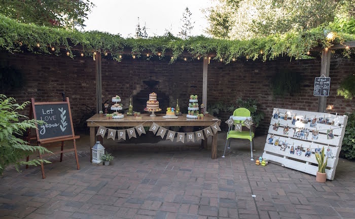 Rustic Garden Birthday Party on Kara's Party Ideas | KarasPartyIdeas.com (16)