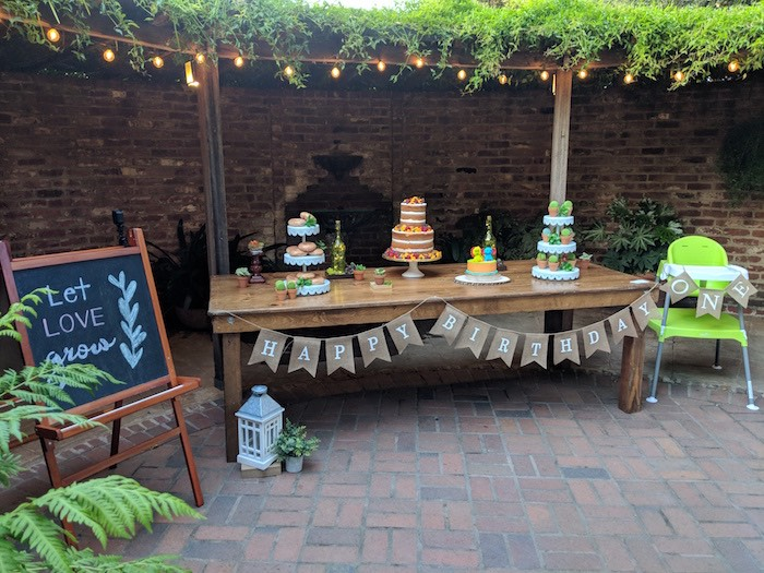 Rustic Garden Birthday Party on Kara's Party Ideas | KarasPartyIdeas.com (4)