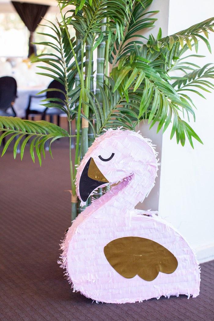 Bird Pinata from a Safari Wild One Birthday Party on Kara's Party Ideas | KarasPartyIdeas.com (23)