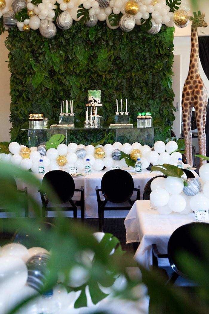 Safari Wild One Birthday Party on Kara's Party Ideas | KarasPartyIdeas.com (33)