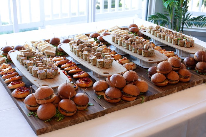Food + Sandwich Table from a Safari Wild One Birthday Party on Kara's Party Ideas | KarasPartyIdeas.com (12)